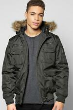 Faux Fur Parkas for Men