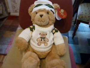 HARRODS 2021 CHRISTMAS BEAR ANGUS BRAND NEW LABELLED JUST ISSUED IMMACULATE