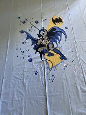 POTTERY BARN KIDS BATMAN DC COMICS VINTAGE FULL/QUEEN DUVET COVER RARE!