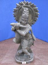 1900's Antique Old Rare Hand Carved Stone Collectible Religious Vintage Krishna