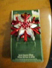 Yankee Candle Electric Fragrance Diffuser Red Snowflake, new