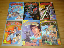 the Invincible Four of Kung Fu & Ninja #1-6 VF/NM complete series - dr. leung's