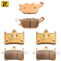 FRONT REAR Sintered Brake Pads for For YAMAHA YZF-R1 2004-2005 2006