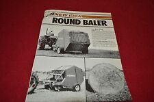New Idea Bale King Round Baler Dealers Brochure DCPA