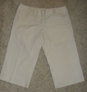 Looks New Womens Adidas Shorts Sz 6 Khaki Clima Lite Shorts