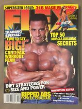 Flex Bodybuilding Muscle Fitness Magazine / Mike Matarazzo / 11-98