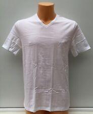 HUGO BOSS Pure Cotton White V-Neck T-Shirt Tee Top Size 2XL BNWOT