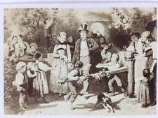 Victorian CDV Carte De Visite Photo: Artwork #121: Girardet, Country Wedding