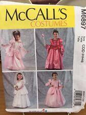 McCalls Costume Pattern M6897 - Princess, Cinderella, Fairy, Bride - Child 2-5