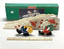 Vintage House of Lloyd - Christmas Around The World - Santa'S Ski Slope 1995 Guc