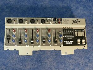 Peavey Escort 3000 PA Mixer 5 Channel - Old style, new old stock.
