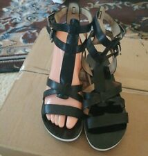 MICHAEL KORS Judie Gladiator Sandals - BLACK - SIZE 6.5