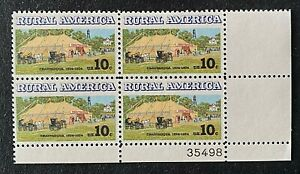 US Stamps, Scott #1505 10c 1974 Rural America VF/XF M/NH. Post office fresh