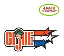 GI Joe Sticker Vinyl Decal 4 Pack