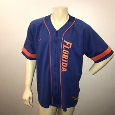 Men's Nike University of Florida Gators Basketball Full-Zip Warm Up Shirt Large