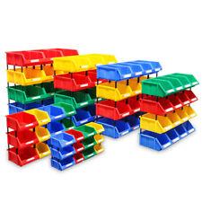 Multi Unit Storage Cabinet Box DIY Workshop Components Tools Organizer Case