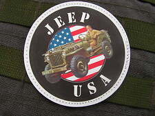 "SNAKE PATCH PVC "" JEEP USA "" willys M201 FORD WW2 RECONSTITUTION US collection"