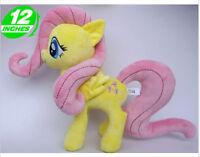 lovely horse Fluttershy cartoon plush doll dolls cute kids gift new