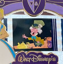 Disney Alice in Wonderland A Piece of Disney Movies Mad Hatter Film Cell Le Pin