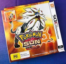 Pokemon Sun Fan Edition for Nintendo 3DS. Australian Release. AUS DS 3DS