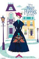 MARY POPPINS - ART MOVIE POSTER - 22x34 - DISNEY 16604