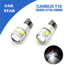 W5W T10 6SMD LED 921 194 ERROR FREE CANBUS Number Plate Parking Lights
