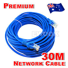 AU Ethernet LAN 30M High Quality Network Cable RJ45 CAT6e CAT6 10M/100M/1000Mbps