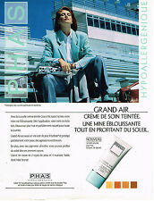 PUBLICITE ADVERTISING 025  1992  PHAS  cosmétiques  GRAND AIR