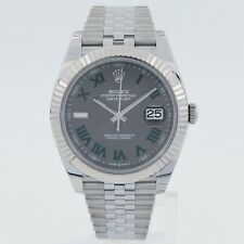 Rolex Datejust Slate Men's Watch - 126334