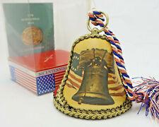Reuge Collector's Bicentennial Musical Bell 1976 Liberty Bell God Bless America