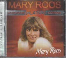 Mary Roos Schlager Platin Edition CD NEU 7000 Rinder - Blaue Augen - Sommerzeit
