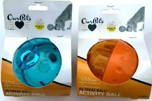 OurPet's Smarter Interactive IQ Treat Ball Dog Activity Toy Treat Dispenser, LRG