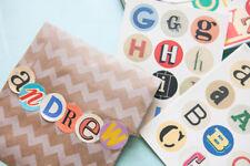 Cavallini & Co Alphabet Vintage stickers - 100 Plus assorties Autocollants