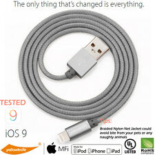 w/Certification Original Lightning Charge Sync Cable Charger iPad iPhone 7 Plus
