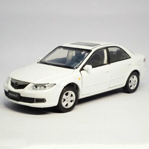 1:32 Mazda 6 2008 Model Car Alloy Diecast Toy Vehicle Collection Kids Gift White