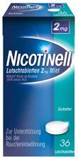 Nicotinell Lutschtabletten 2 mg Mint 36 Stück / PZN: 07006448