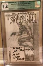 Marvel Authentix: Amazing Spider-Man #1 CGC 9.8 2x Signed Romita & Romita Jr COA