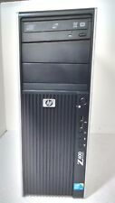 HP Z400 WORKSTATION INTEL XEON W3520 @2.67GHz  8GB RAM 1TB HDD VCARD    T5 F13
