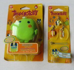 Tamagotchi Pet - Kuchipatchi Pouch &  Mametchi Tama Charms - NO Tamagotchi