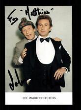 The Ward Brothers Autogrammkarte Original Signiert ## BC 63541