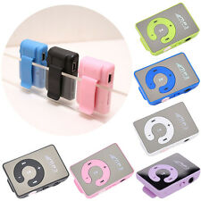 Specchio clip USB Digital di musica MP3 Player di sostegno 1-8GB TF card SD Gift