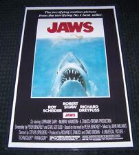 Jaws 11X17 Movie Poster Dreyfuss Shaw Scheider