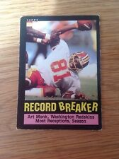 Vintage 80s Art Monk USA NFL American Football TRADING CARD