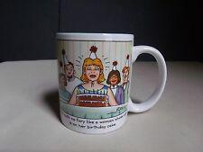 Hallmark Cartoonist Revilo Mug Hell Hath No Fury Like A Woman Age Birthday Cake