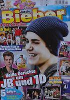 JUSTIN BIEBER - Picture Star Magazin 06/2012 + XXL Poster - Clippings Sammlung