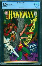 Hawkman #22 CBCS VF/NM 9.0 Off White to White DC Comics