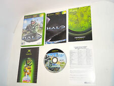 HALO 1 complete in box with manual Xbox videogame