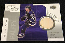 zigmund ziggy palffy game used stick upper deck card
