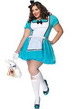 Enchanted Alice Wonderland Adult Costume, 1X-2X