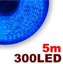 P809/5# Ruban LED Bleu  5 mètres 300 LED 3528 - blue LED strip